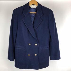 Saks Fifth Avenue The Works Blazer Size 10P Blue
